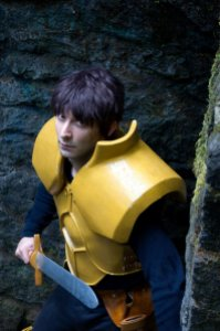 Octavian as Parn from Record of Lodoss War, photo by Tom Good