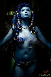 Chou-Wa as Shiva from Final Fantasy X, photo by Elysium Entertainment