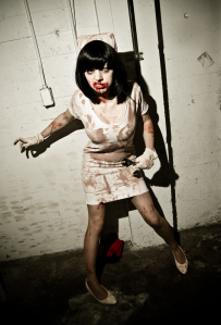 Paprika as Demon Nurse from Silent Hill 3, photo by Jeff Mawer
