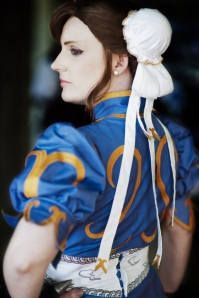 Seifer-sama as Chun Li from Street Fighter, photo by Shibuya