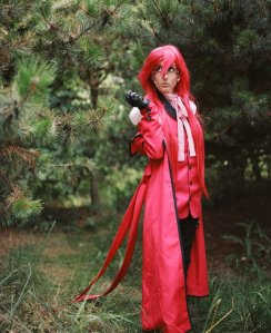 Grell as Grell from Kuroshitsuji, photo by Ed Tan