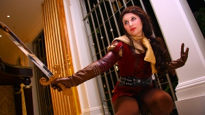 Arlette as Belle from Once Upon a Time, photo by Lionel Lum