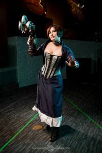 Arlette as Elizabth from Bioshock: Infinite, photo by Nathan Carter